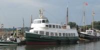 Altes Fährschiff Altenwerder, Foto: G. Bertram